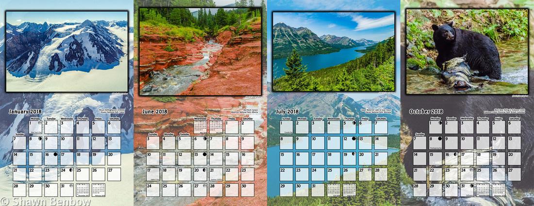 2018 Calendar Preview