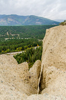 View from the top of the Fairmont Hoodoos.