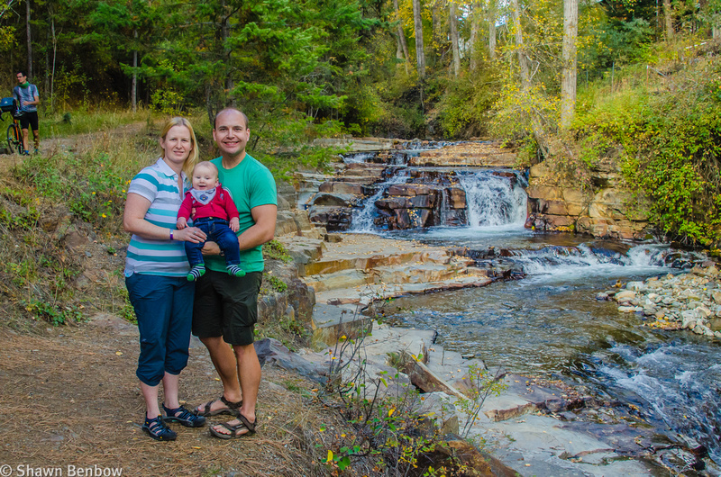 Jenn, James, and Shawn near Marysville Falls.
