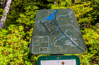 Old Kananaskis Country trail sign at Watridge Lake