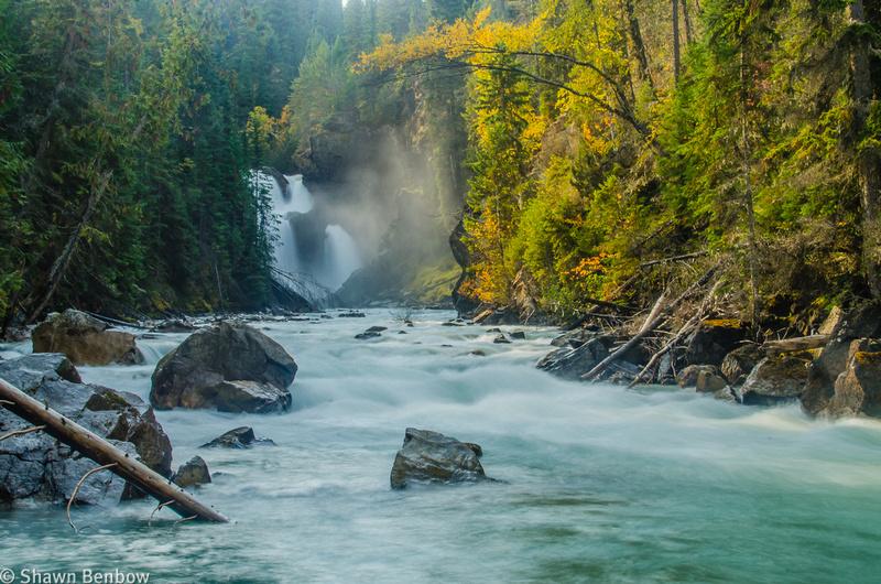 Lower Bugaboo Falls.