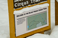The Black Prince Cirque Trail, as indicated on the map here, should more aptly be named Warspite Lake Trail.