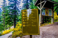 Morraine Lake Trailhead
