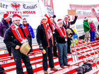 Steffi Moser's fan club with their Cowbells