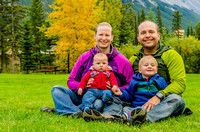 2016 Fall Family Photos in Banff