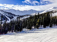 View of Marmot Basin from the Paradise Chair
