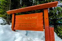 Welcome to Emerald Lake in Yoho National Park.