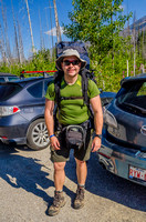Shawn at the Floe Lake Trailhead