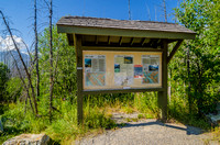 Floe Lake Trailhead Kiosk
