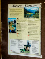 Trail Kiosk for Marble Canyon and Tokumm Creek.