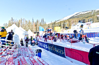 Finish area at Lake Louise