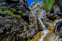 Waterfall in Grotto Canyon