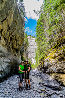 Jenn and Shawn in Grotto Canyon