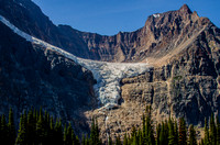 Angel Glacier on Mount Edith Cavell.