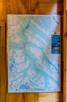 Gem Trek map from 1995 at the Jasper Tramway