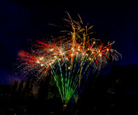2012 Canada Day Fireworks in Canmore