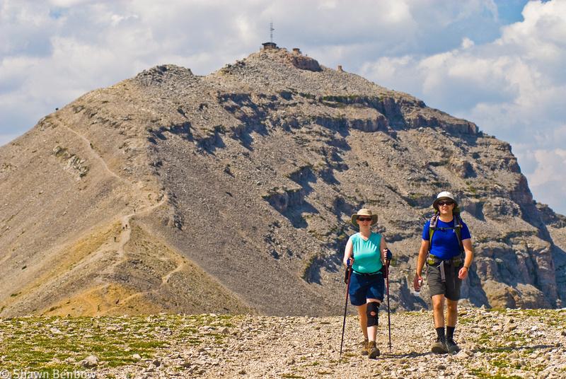 Jenn and Dan on the Moose Mountain False Summit