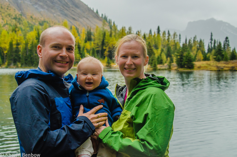 Shawn, James, and Jenn at Chester Lake.