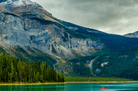 Southern slopes of the Vice President and Emerald Lake.