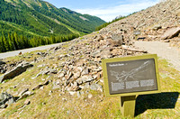 Rock Glacier Trail near the Highwood Pass.